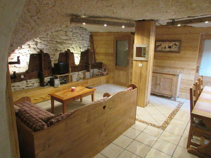 La Bergerie ,appartement atypique, casa vacanza a Bramans