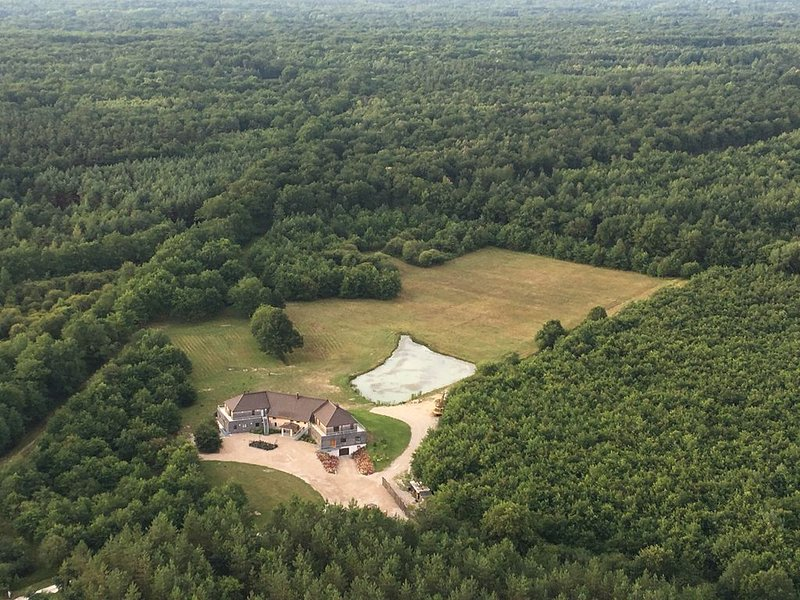 Grand gite en Sologne, en immersion en pleine nature à 30 km de Chambord, holiday rental in Ligny-le-Ribault