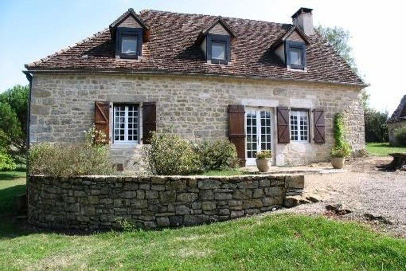 Maison traditionnelle pour 10/11 personnes - à 6km de Rocamadour et de Padirac, location de vacances à Bio