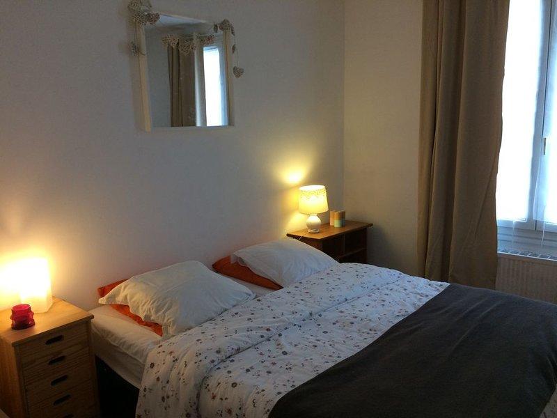 Appartement 4 pers centre ville, location de vacances à Germigny-des-Pres