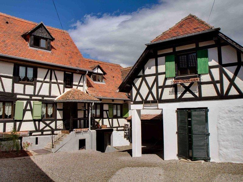 Le Vieux Pressoir - 8 chambres - jusqu'à 22 personnes - 6 salles de bain, aluguéis de temporada em Epfig