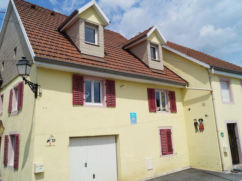 Location de vacances à Masevaux (Hautes vosges d'Alsace) 3 épis Gîtes de France, holiday rental in Dannemarie