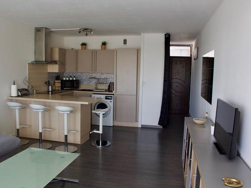 à ARCACHON dans le quartier de l'aiguillon appartement tout confort de 40 m2, location de vacances à Arcachon