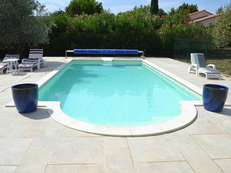 Appartement avec piscine, holiday rental in Villedieu