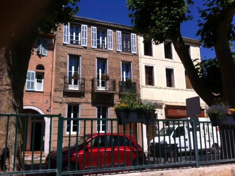 Chambre au coeur du village de Garéoult, holiday rental in Gareoult