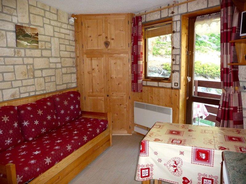 Studio Montagne avec garage,  La Rosière été/hiver  Accès MONT BLANC Courmayeur, holiday rental in Montvalezan