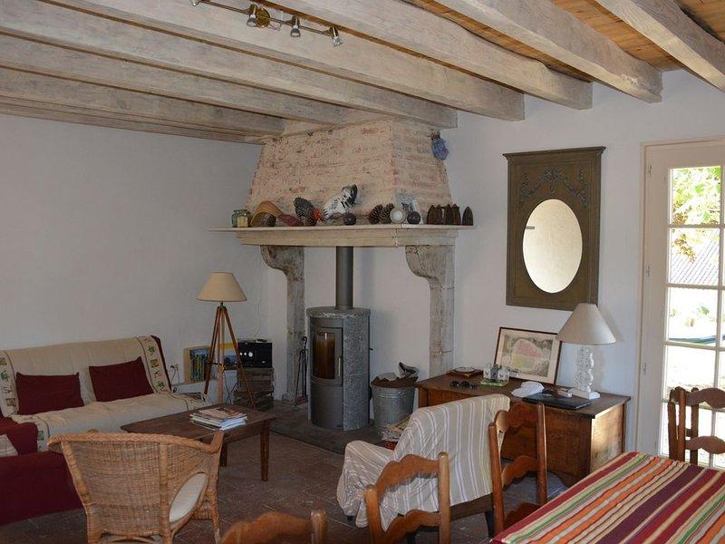 Maison au calme au sud des Landes  avec un grand terrain, location de vacances à Saint-Jean-de-Marsacq