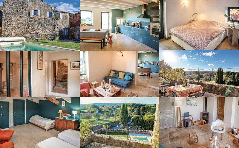 Charmante maison avec piscine en Drôme Provençale, location de vacances à Valaurie