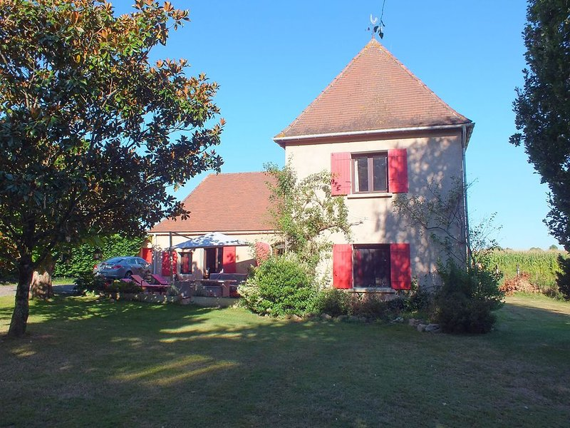 Perigordian style property, vacation rental in Saussignac