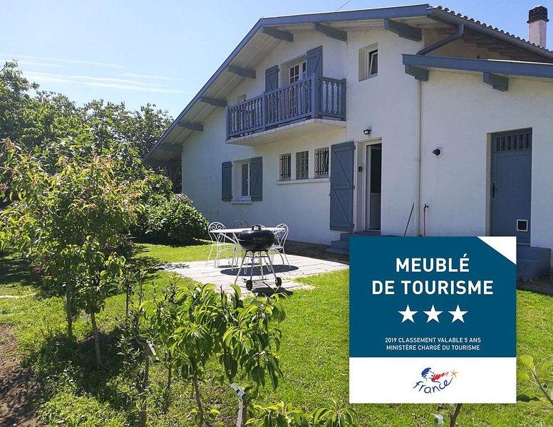 Appartement 3* Tarnos idéal pour des vacances en famille Pays Basque & Landes, holiday rental in Boucau