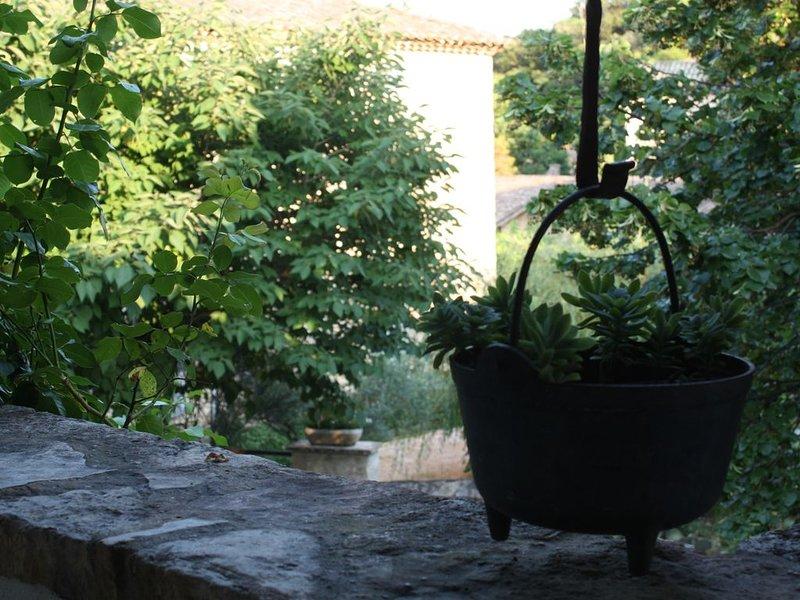 La Maison du Tilleuil _ maison de charme avec piscine chauffée, vacation rental in Goudargues