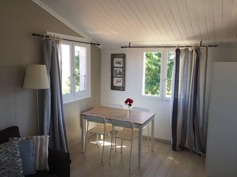 Studio Les Roches Saint Laurent de la Prée Proche plage Fouras (4kms), holiday rental in Vergeroux