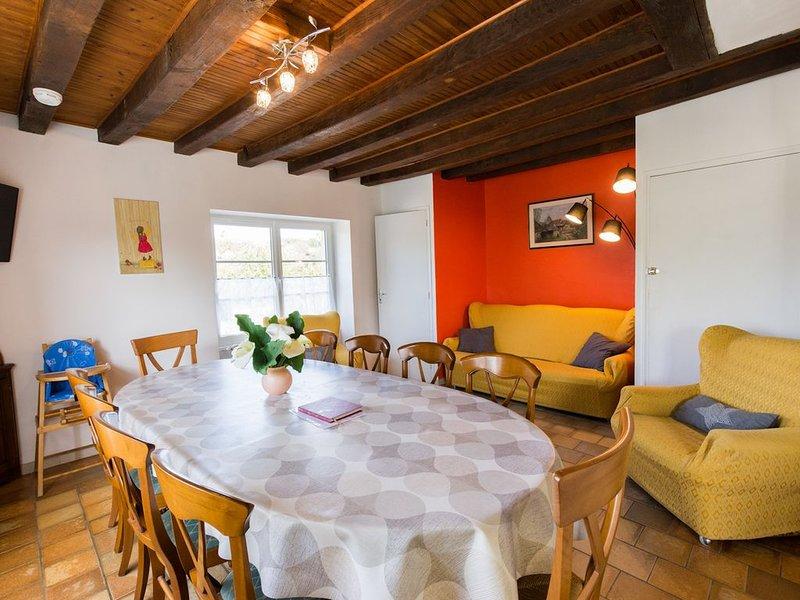 3 *** Gîte classé près du zoo de la flèche 11 couch..+BEBE PRIX base 104€/6per, holiday rental in La Fleche