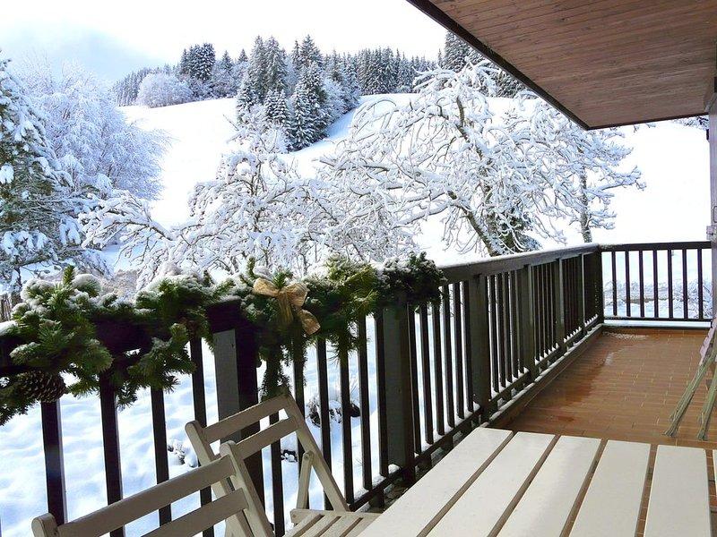 Appartement avec vue dégagée sur les alpages., casa vacanza a Megève