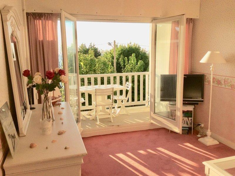Magnifique appartement de CHARME, MER, 700m plage, LINGE, PARKING, WIFI inclus, holiday rental in Trouville-sur-Mer