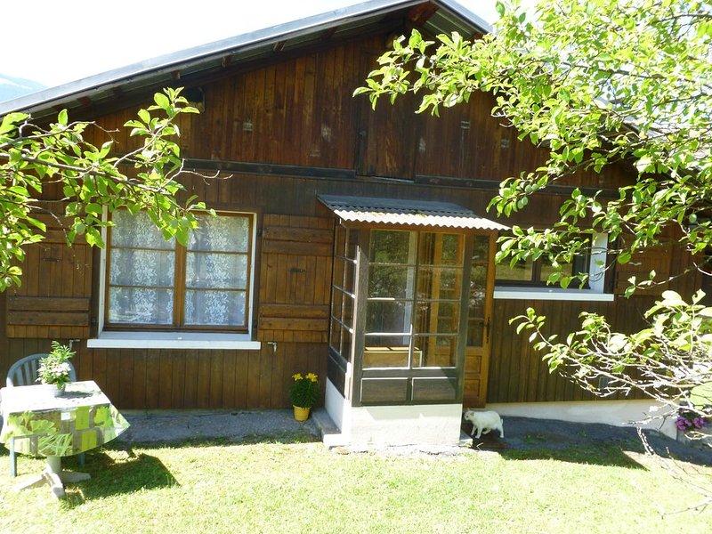 CHEZ FEDO   2 étoiles, holiday rental in Passy