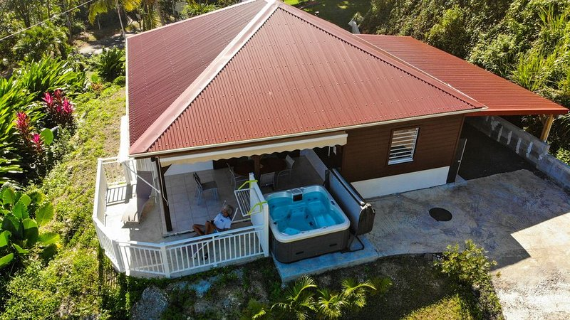 Villa F3 standing et tout confort à Petit-Bourg en Guadeloupe, location de vacances à Petit-Bourg