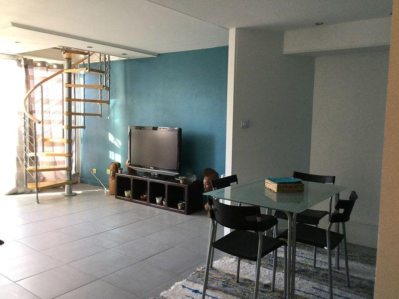 Beau T2 duplex 54m2 très lumineux et spacieux, vacation rental in Talence