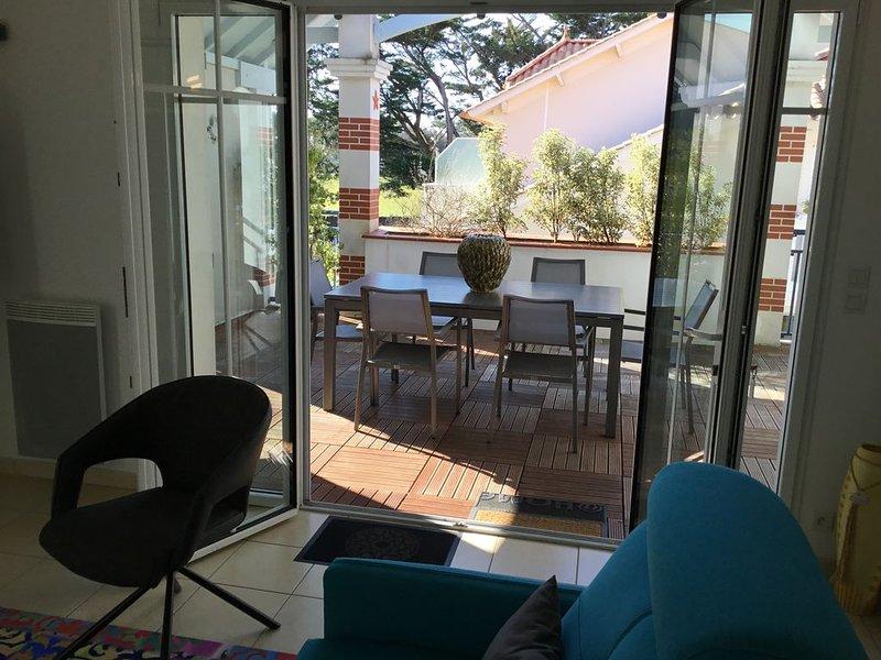 Appartement 5 à 7 personnes, holiday rental in La Barre-de-Monts