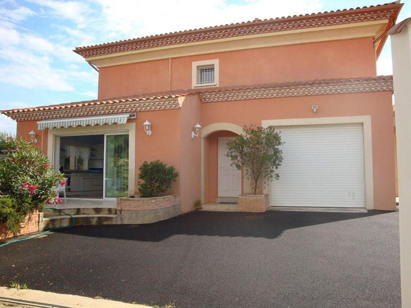 Appartement 3 pièces , 2 chambres SERIGNAN, vacation rental in Villeneuve les Beziers