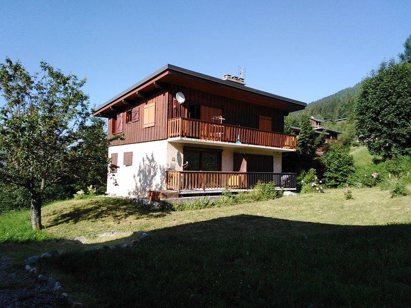 Valmorel - Appart. RDC 5/6 personnes - La Charmette, casa vacanza a Les Avanchers-Valmorel
