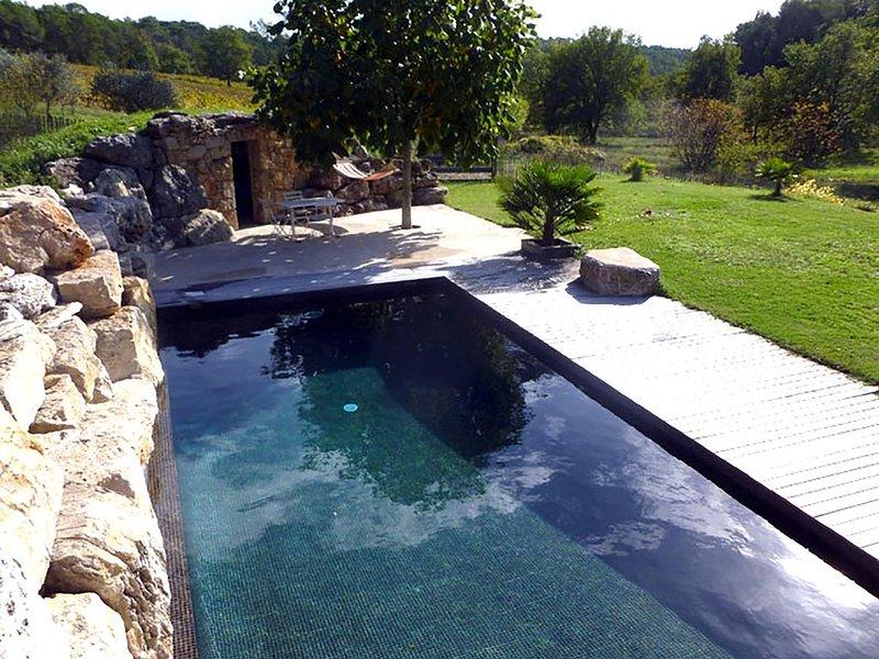 Villa avec piscine dans un vignoble de Provence, holiday rental in Seillans