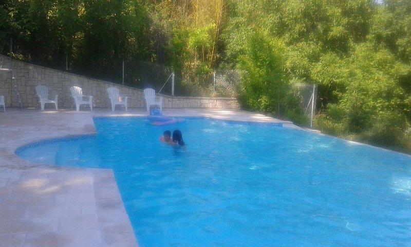 Gîte 9 pers avec terrasses privatives et piscine à partager, casa vacanza a Damazan