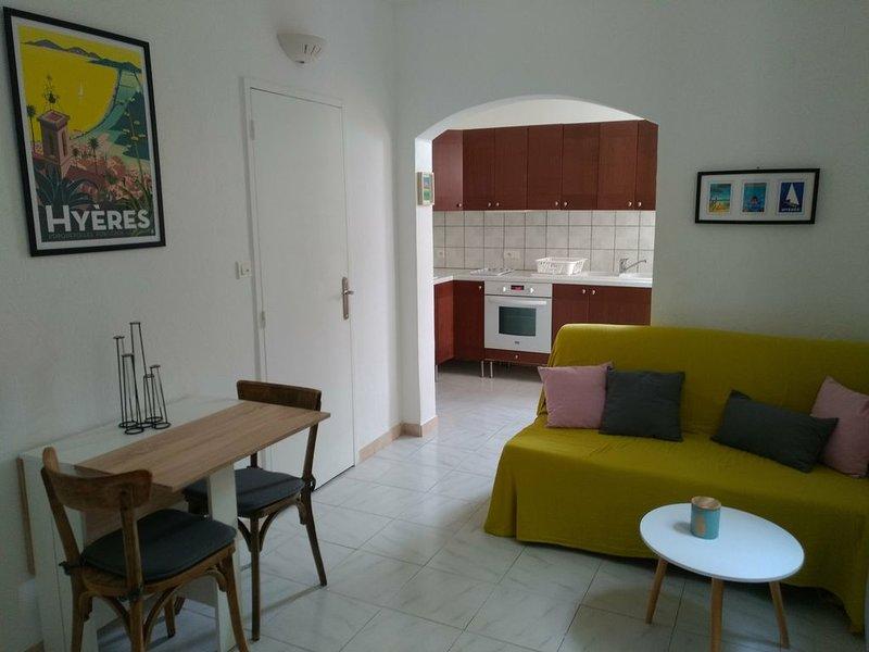 Appartement cosy dans quartier calme de Toulon, aluguéis de temporada em Toulon