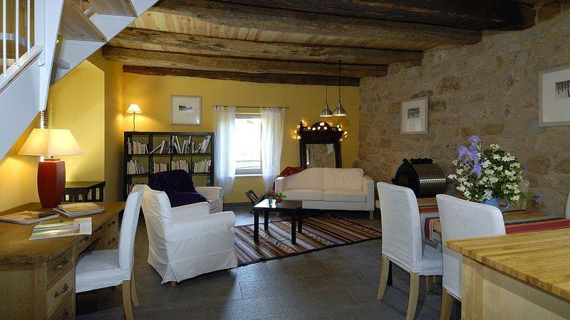Gite de la Cascade, entre Rodez et Conques, vacation rental in Nauviale