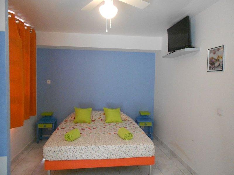 GITE  tous confort avec piscine privée, holiday rental in Deshaies
