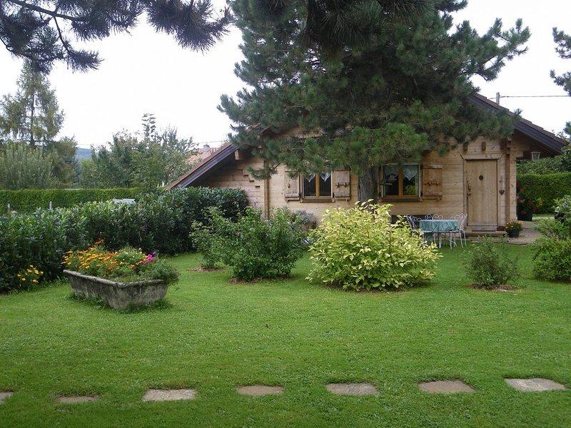 CHALET DE CAMPAGNE indépendant ***, holiday rental in Sancey-le-Grand