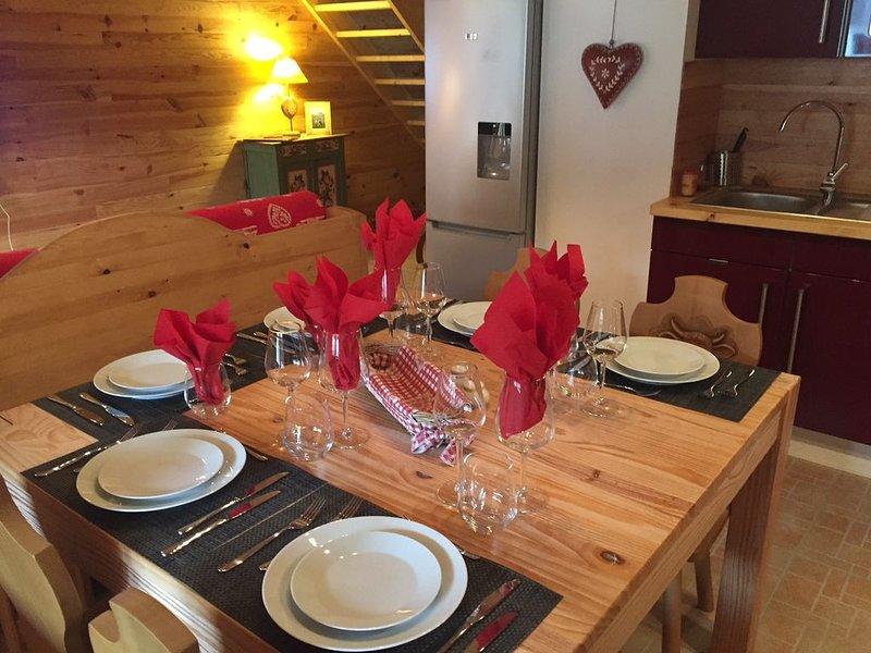 Sup.  duplex  4*NN -  MORILLON VILL. à 150 M DES REMONTEES MECANIQUES., holiday rental in Morillon