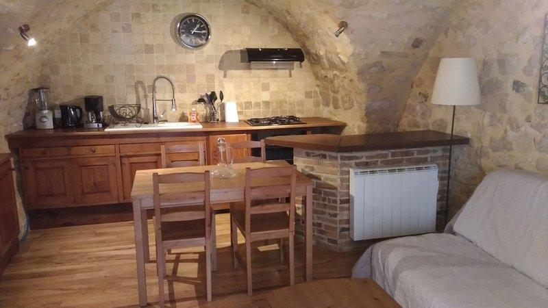 Superbe gîte en pierre, Drôme Provençale, location de vacances à Valaurie