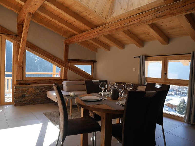 Appart cosy 4/6 pers 3 pièces LA PLAGNE-CHAMPAGNY, holiday rental in Champagny-en-Vanoise