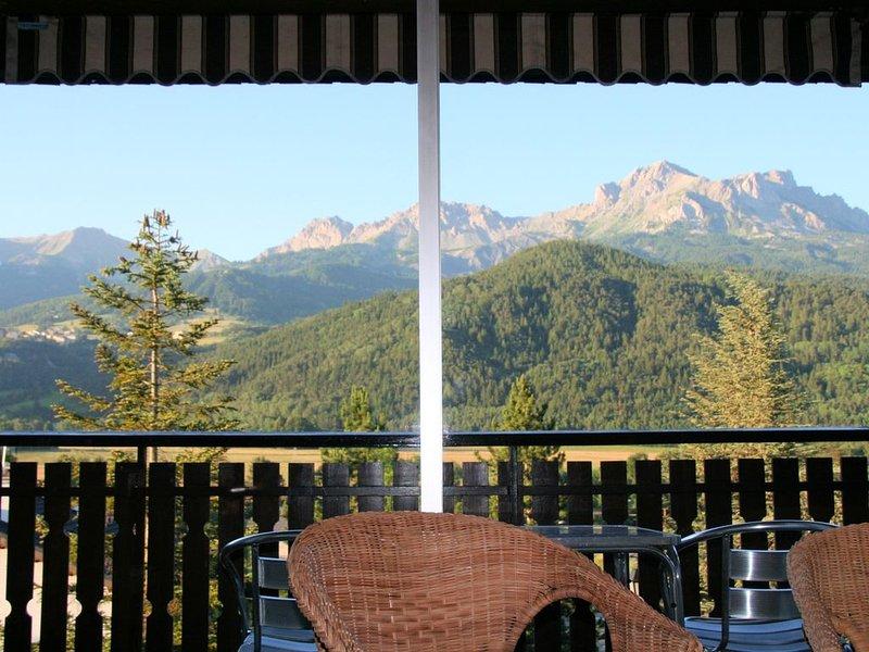 Appartement Barcelonnette -T2- Belle Vue - au pied de stations de ski, location de vacances à Jausiers