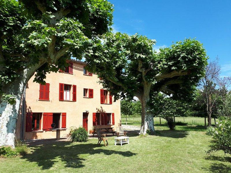 Ancien corps de ferme, holiday rental in Villecroze