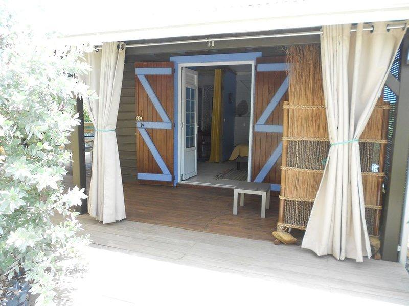 p'tite maison de Beauvallon lodge en pays créole, location de vacances à Sainte Rose