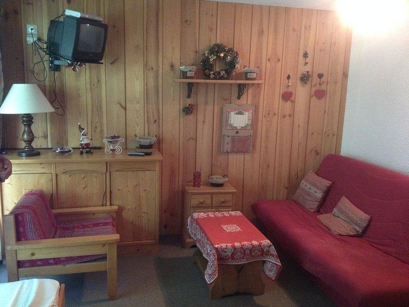 charmant studio de 31 m² en bord de piste, alquiler vacacional en Mont-de-Lans