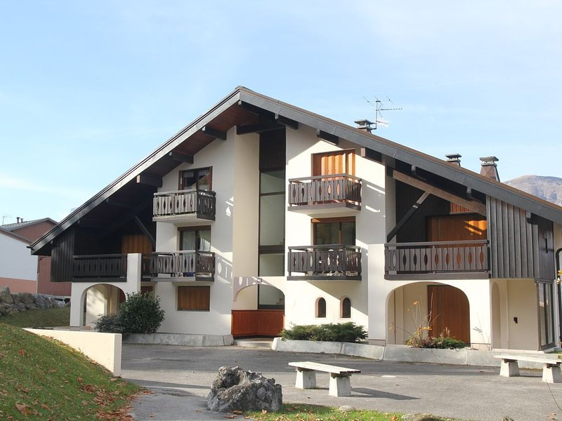 Appartement 6pers. cosy au pied des pistes. Les Carroz, holiday rental in Magland