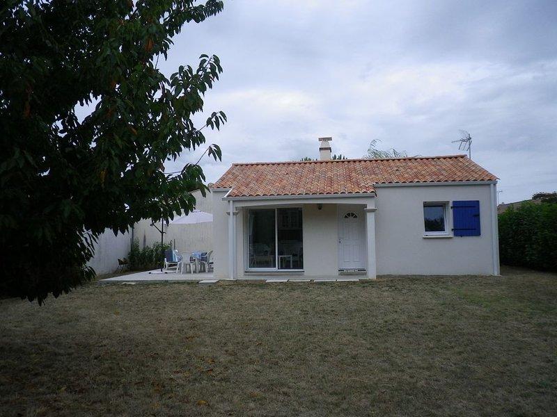 Villa Océane à St Vincent sur Jard, holiday rental in Saint-Hilaire-la-Foret