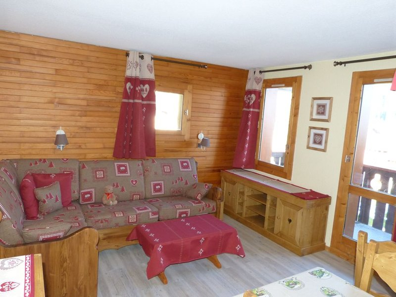 VALMOREL appartement 5 personnes, rés. Lauzière Dessus, casa vacanza a Les Avanchers-Valmorel