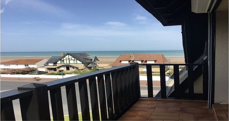 Appartement vue mer. Proche Deauville, Houlgate, Cabourg  4 Pers, Ferienwohnung in Deauville