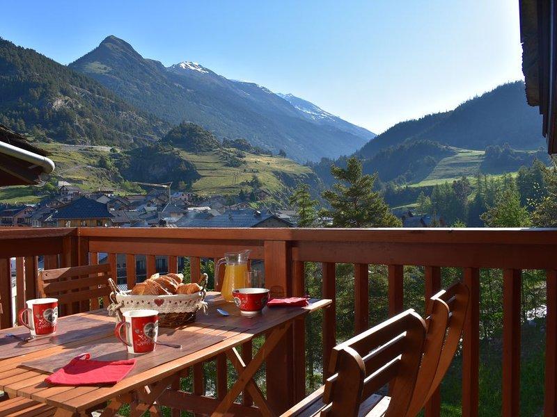 Appartement 6p. Val Cenis Termignon Parc de la Vanoise pied des pistes de ski, aluguéis de temporada em Val-Cenis