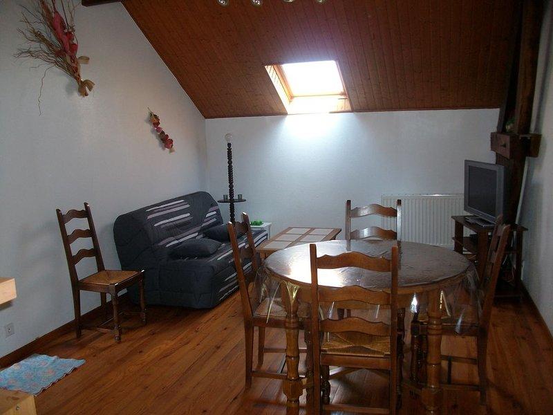 Gîte à la campagne 5-6 personnes, holiday rental in Lescure-Jaoul