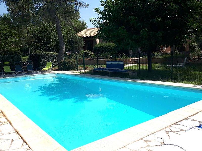 Superbe Villa provençale située à 15 mn de  la mer et 30 mn de Saint Tropez, holiday rental in Le Muy