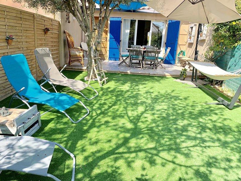 Maison  entière, saisonnière.Bord de mer 'La Presqu'île' �, location de vacances à Port-de-Bouc