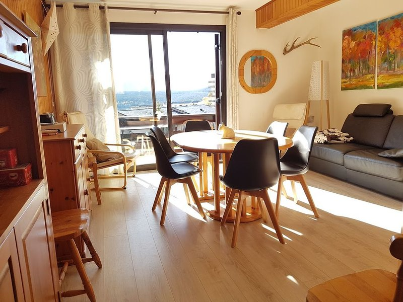 grand appartement T3 les Angles, location de vacances à Matemale