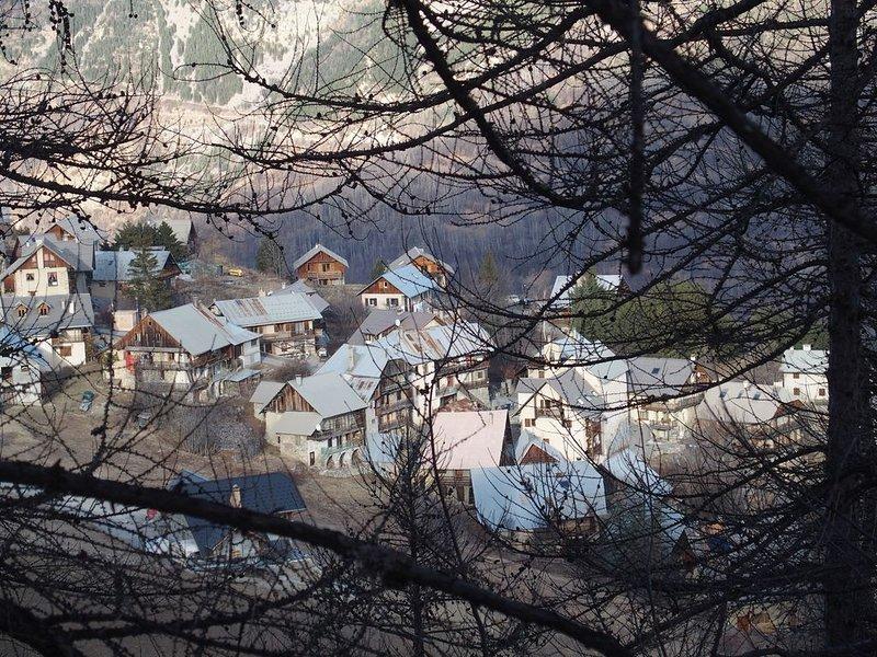 Maison d'altitude à Puy Aillaud - Vallouise-Pelvoux / Parc des Ecrins, location de vacances à Vallouise-Pelvoux