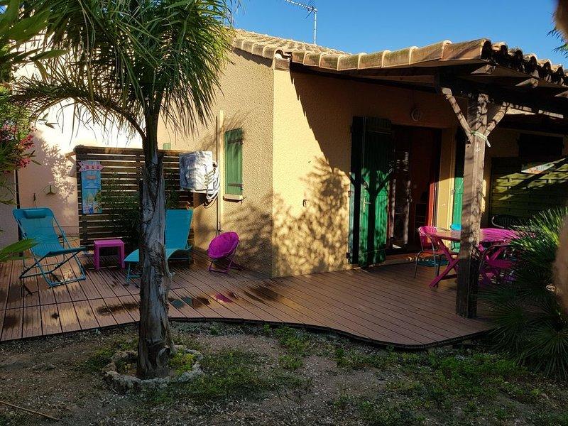 Très jolie petite villa à la Franqui, holiday rental in Leucate