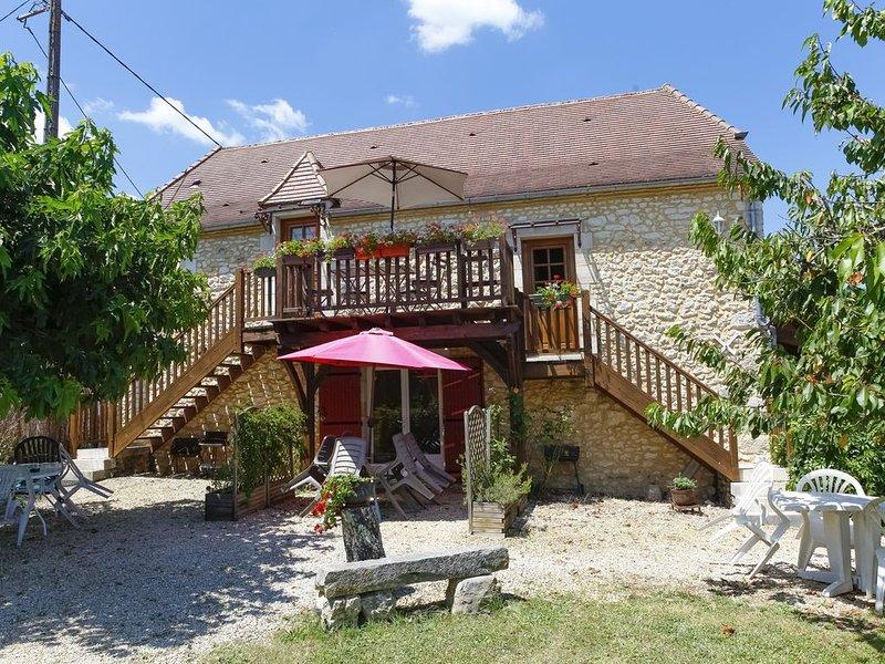 MASKALI, Gite le Marin , piscine chauffée vue dégagée, holiday rental in La Bachellerie